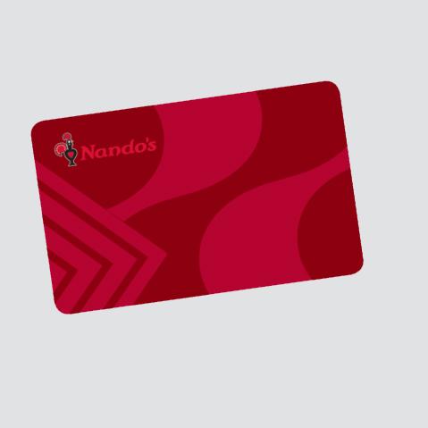 Earn rewards at Nando's