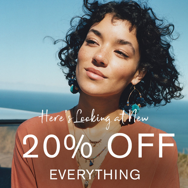 Spring is 20% less at Accessorize
