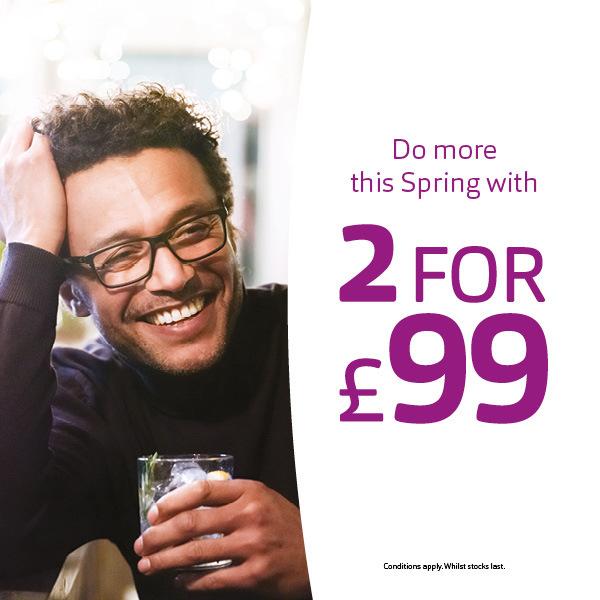 Get 2 for £99 at Vision Express