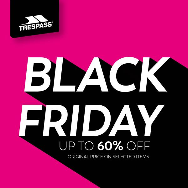 Black Friday begins at Trespass