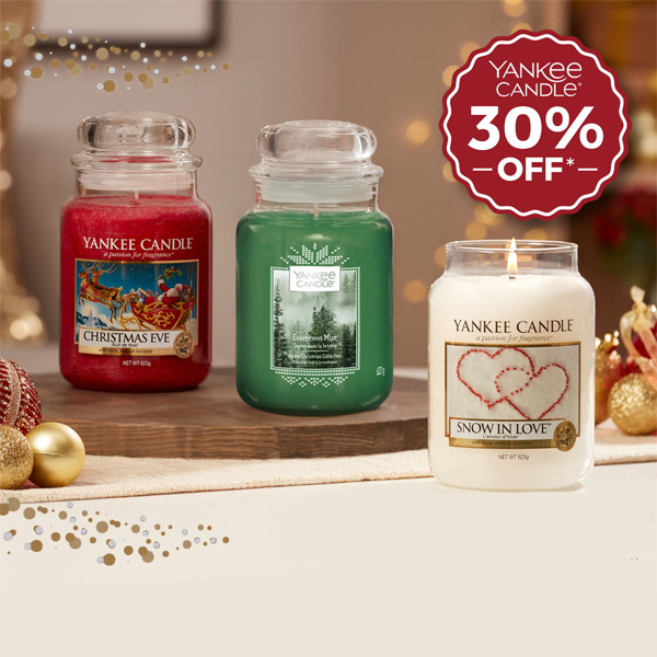 Save 30% on Yankee at Clintons