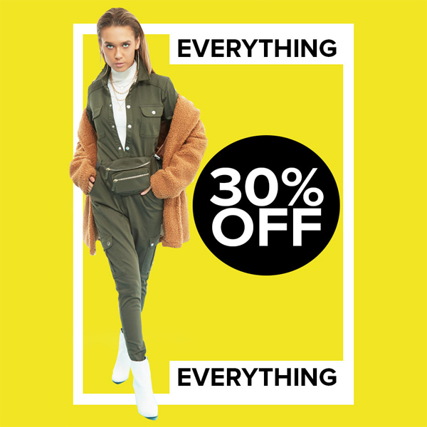 Everything is 30% less at Select