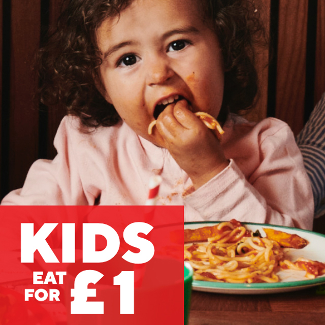 Treat the kids at Frankie & Benny's