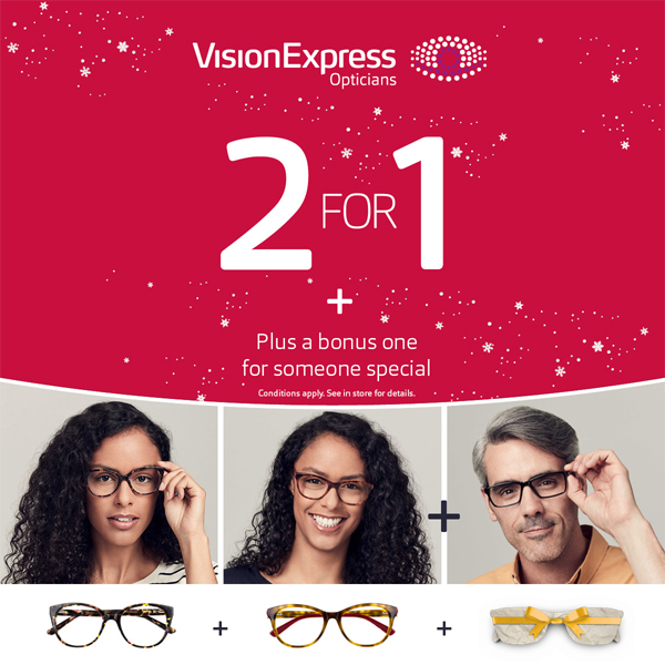 Exceptional offers at Vision Express