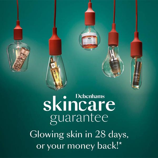 Buy with Debenhams Skincare Guarantee