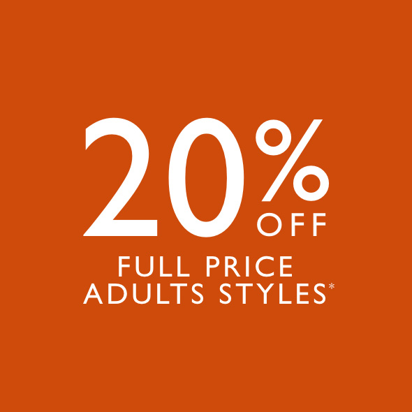 Save 20% at Clarks