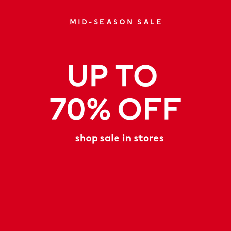 Save at the H&M Sale