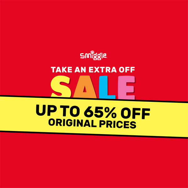 Get a bit extra at the Smiggle Sale