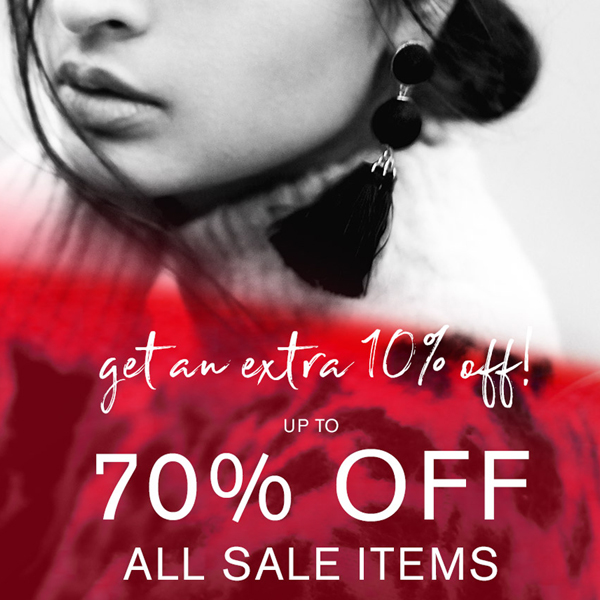 Get an extra 10% off the Accessorize Sale