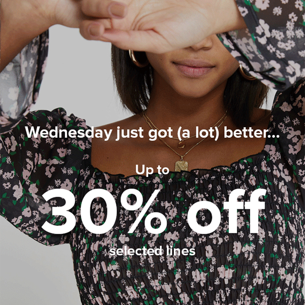 Spring is 30% off at River Island