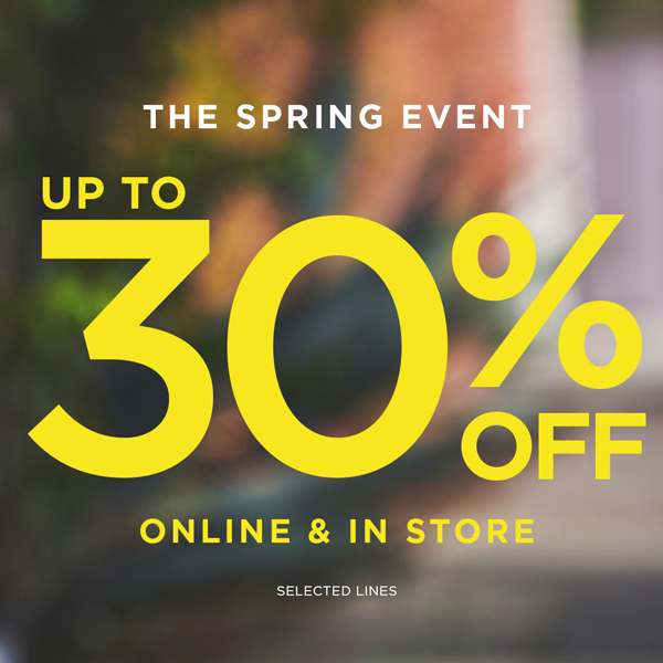 Spring is 30% less at DP