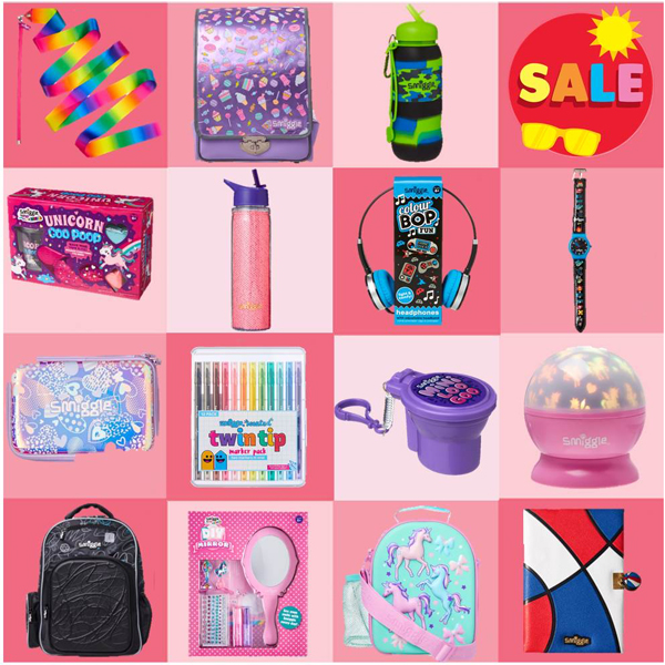 Smile at the Smiggle Summer Sale