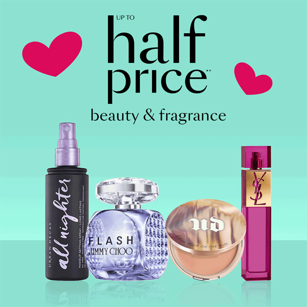 3ca71c011d5 Revamp your summer beauty style with up to half price reductions in the Beauty  Hall at Debenhams. Enjoy 25% off Urban Decay complexion products, ...