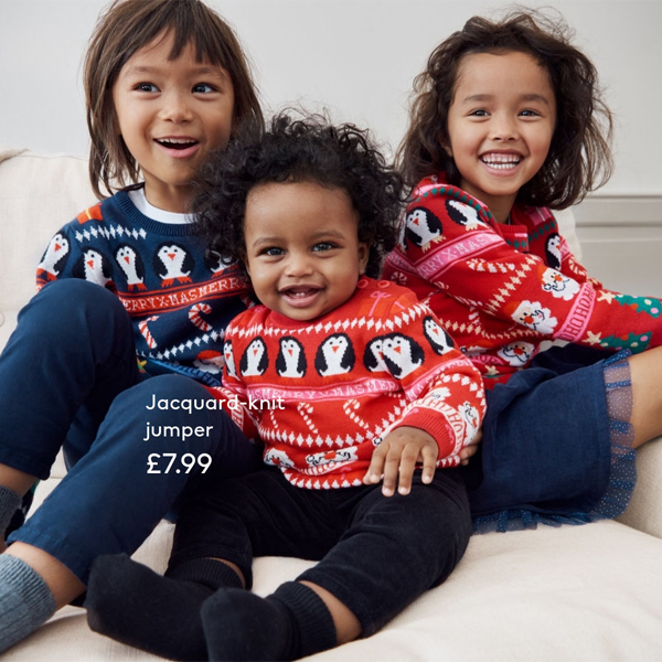 H&M has jolly jumpers
