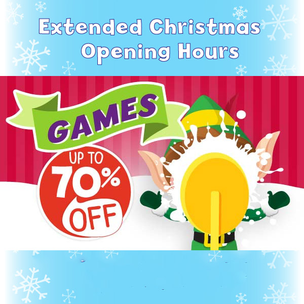 Game on with 70% off at The Entertainer