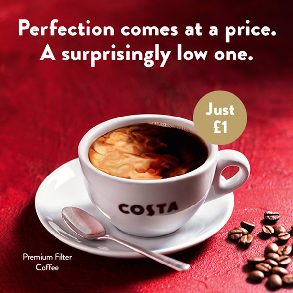 Perfection is £1 at Costa