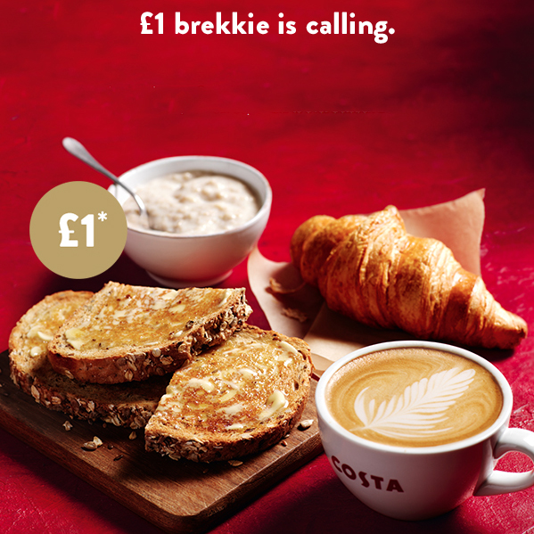 Start your day the Costa way